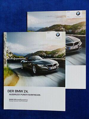 Sportwagen Autowerbung  int Nr2 BMW Z4 Roadster E89 Werbe Karte 2009 card