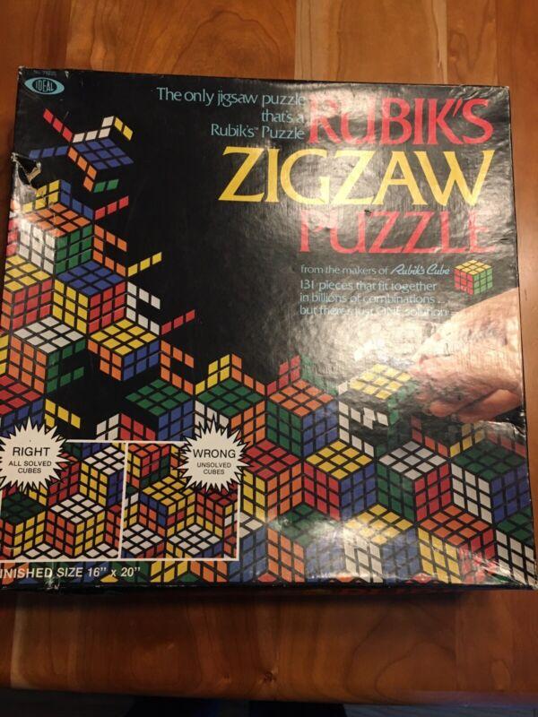 vintage rubiks Zigzaw puzzles