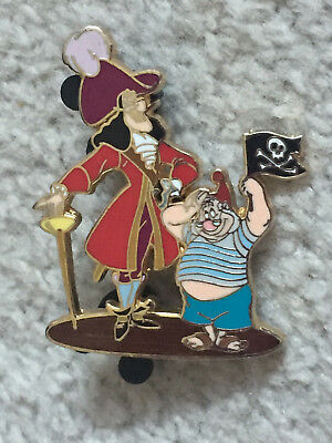 Disney DisneyShopping.com Hook & Smee as Pirates Pin Artist Proof AP