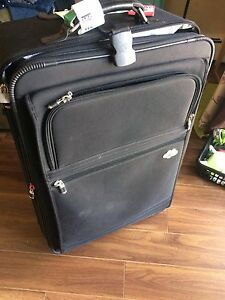 Large Black Luggage