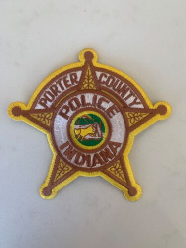 Porter county Indiana  Police Patch