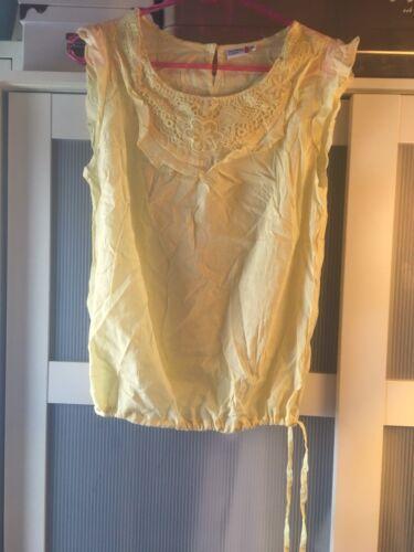 T-Shirt❗️ Damen Mädchen M/38 Oberbekleidung (Bluse/Kleid) gelb Urlaub Sommer