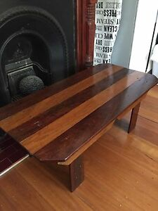 Recycled timber coffee table Burwood Heights Burwood Area Preview