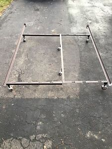 Queen,Double,Single bed frame $40