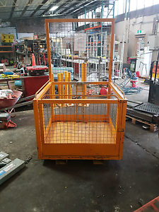 Steel safety forkift man cage Botany Botany Bay Area Preview