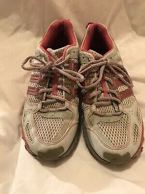 adidas Lady Kanadia 4 Trail Running Shoes - 7UK, Grey/Pink