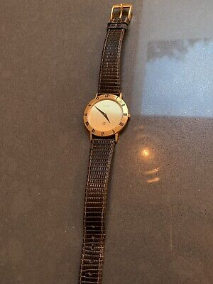 VIntage Gucci 3000M 18k tgold plated watch
