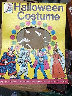 Rare Pre Production Bland Charnas Halloween Costume Window Box Dracula Astronaut