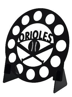 Baltimore Orioles Baseball Black 12 K Cup Dispenser Coffee Keurig Pod Holder
