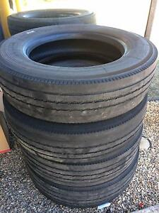 4 x Used Truck Tyres Up for Grabs! Rocklea Brisbane South West Preview