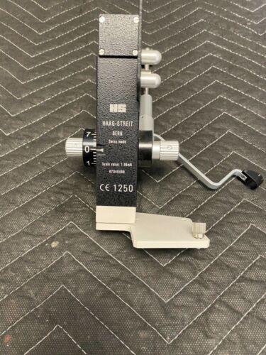 Haag Streit Model 870 Applanation Tonometer-Excellent Condition!