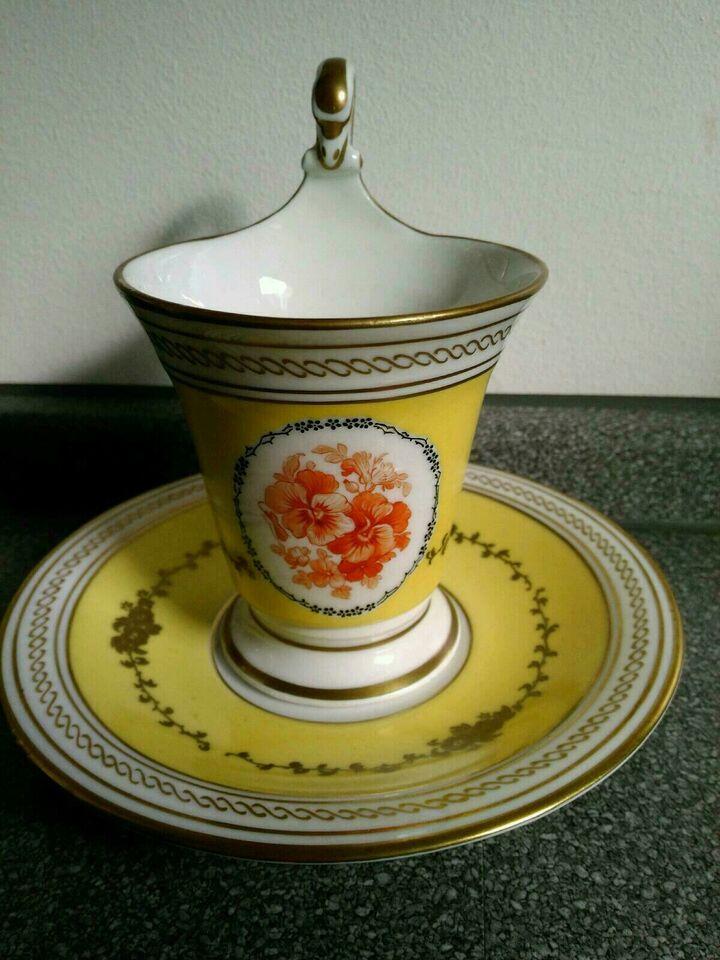 Kaffee-Gedeck Tasse Untertasse 1920 KPM antik Eiserne Zeit in Berlin - Steglitz