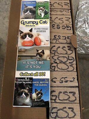 Grumpy Cat 3 Stickers From Vending Machine Free Sh