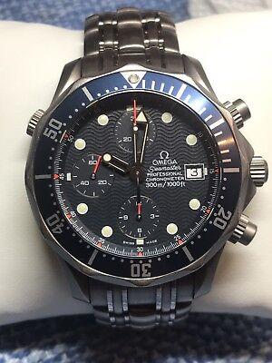 Omega Seamaster Professional 300m Titanium Chronograph