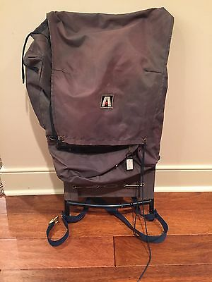 Vintage Academy Broadway Blue Mountain Crest External Frame Alum Hiking Backpack