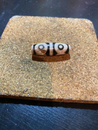 Antique Tibetan Six Eye Dzi bead