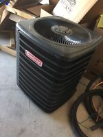 BRAND NEW AC NEVER RUN SELLING FOR PARTS MOSTLY 500$