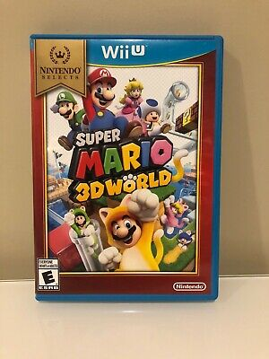 Nintendo Wii U Super Mario 3D World Nintendo Selects Tested Guaranteed Working!