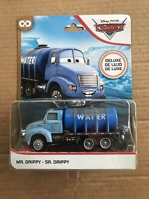 2020 Disney Pixar Cars Deluxe MR. DRIPPY Water Truck Thunder Hollow 1:55 Scale
