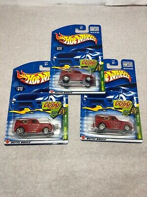 Lot of 3 (3) Hot Wheels Anglia Panel 2002 Treasure Hunt #12