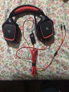 Logitech G230 Gaming Headphones