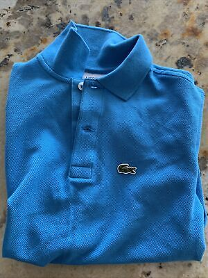 Boys Lacoste Polo Nwot 8