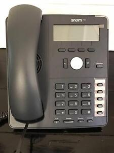 SNOM 710 voIP Business Phone System - 8 Handsets Gladesville Ryde Area Preview