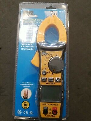 Ideal 61-737 Digital 400a Acdc Trms Clamp Meter