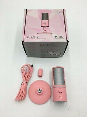 Razer Seiren X USB Condenser Microphone - Quartz Edition Pink - Gently Used
