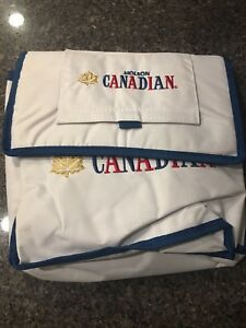 BRAND NEW MOLSON CANADIAN COOLER LUNCH BAG