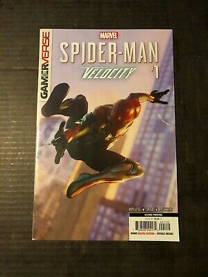 Spider-Man Velocity #1 Gamerverse 2nd print