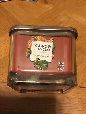 Yankee Candle Elevation Collection Ginger Pumpkin 3-Wick Candle 12.25oz NEW