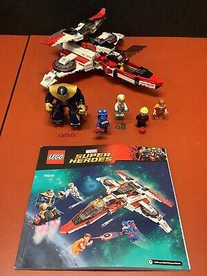 Lego Marvel Super Heroes Avenjet Space Mission (76049) - 100% Complete!