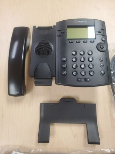 Polycom VVX 311 VOIP IP NON Color Display Telephone 2200-48350-025 Media Phone