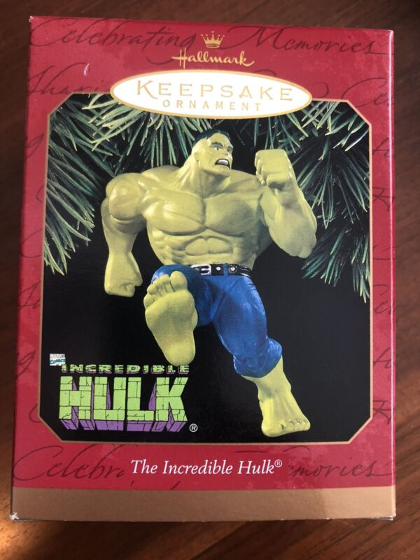 HALLMARK 1997 MARVEL THE INCREDIBLE HULK ORNAMENT