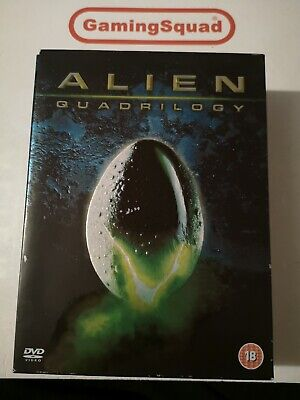 Alien Quadrilogy (9 Disc) DVD, Supplied by Gaming Squad