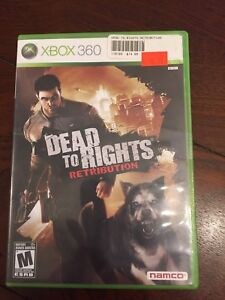 DEAD TO RIGHTS RETRIBUTION FOR XBOX 360