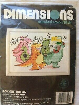 New Dimensions Counted Cross Stitch Rockin