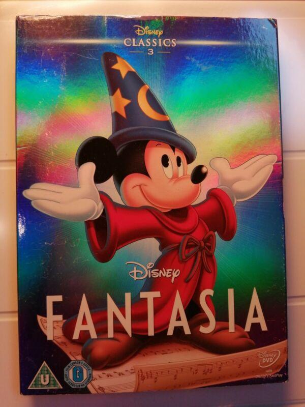 Disney+Fantasia+DVD+%26+O+ring+Slip+cover+%282011%29+Samuel+Armstrong+Brand+New+Sealed