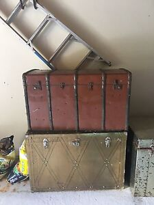 Vintage Metal Trunks - 1950's Queens Park Eastern Suburbs Preview