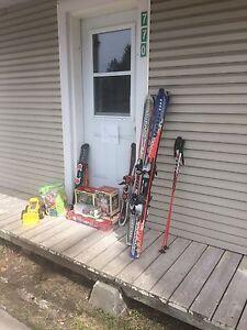 Ski + jouet + maisonette GRATUIT
