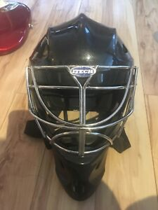 Itech goalie mask helmet with cat eye cage