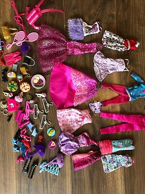 Barbie Bundle of clothes shoes and accessories