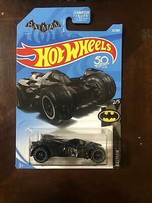 2018 HOT WHEELS ''BATMAN''  #112 = BATMAN:ARKHAM KNIGHT BATMOBILE = BLACK  us