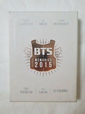 BTS Memories of 2015 Official 4 DVD Photobook Full Set