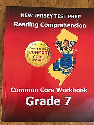 NEW JERSEY TEST PREP Reading Comprehension Common Core Workbook Grade 7, NEW