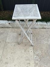 Shabby Chic Hamptons Style Rattan side table Marrickville Marrickville Area Preview