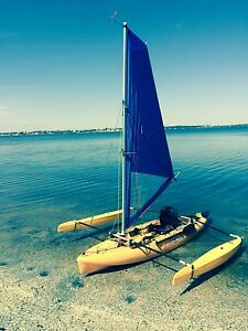 Hobie Mirage Outback 2015 model bright yellow Tapping Wanneroo Area Preview