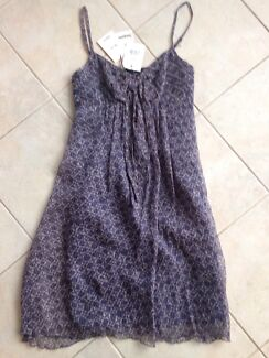 Strappy Dress - 100 % silk Brand new $250 Cronulla Sutherland Area Preview