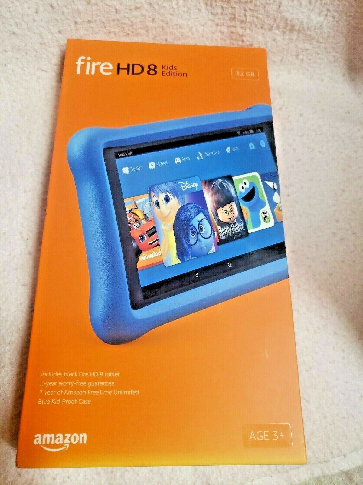 "All-New Fire HD 8 Kids Edition Tablet 8"" HD Display 32 GB Bl"